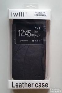 Futrola preklopna s većim prozorčićem za Samsung G900F Galaxy S5 DSS511