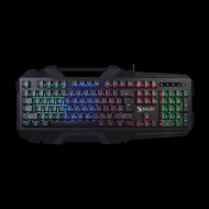 Gejmerska tastatura, A4Tech A4-B150N Bloody, US-LAYOUT, black, USB