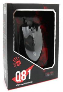 Gejmerski miš A4Tech A4-Q81-CURVE Bloody, NEON X-Glide, 500-3200 Dpi, USB