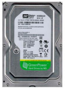 """HDD interni 3.5"""", WD 320GB WD3200AUDX, AV-GP GREEN 7200RPM 32MB SATA3"""