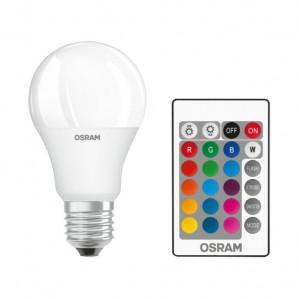 LED sijalica E27 OSRAM 9W, RGB sa daljinskim upravljačem