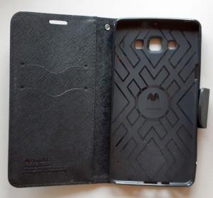 Preklopna futrola MERCURY za Samsung Galaxy A7 2015, SM-A700F, crna