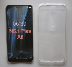 """TPU 0.3mm ultra tanka maska za Nokia 6.1plus 2018, Nokia X6 (5.8"""") providna"""