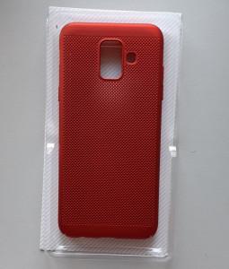 TPU maska BREATH za Samsung Galaxy A6 2018, SM-A600F, crvena