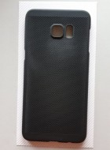 TPU maska BREATH za Samsung Galaxy S6 edge+ 2015, SM-G928F, crna