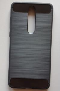 "TPU maska BRUSHED za Nokia 3.1 Plus 2018, Nokia X3 (6.0"") crna"