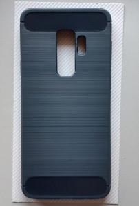 TPU maska BRUSHED za SM-G965F GALAXY S9 PLUS, teget plava