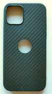 "TPU maska CARBON 0.3 mm iPhone 12 2020, iPhone 12 Pro 2020 (6.1"") crna"