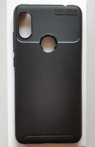 "TPU maska CARBON za Xiaomi Redmi Note 6 Pro 2018 (6.26""), crna"