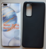 "TPU maska Pudding za Huawei Honor 30 Pro 2020, Honor 30 Pro+ 2020 (6.57"") crna"
