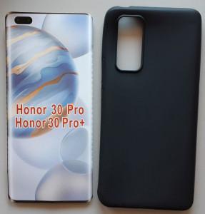 "TPU maska Pudding za Huawei Honor 30 Pro 2020, Honor 30 Pro+ 2020 (6.57"") crna"