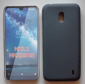 """TPU maska Pudding za Nokia 2.2 2019 (5.71""""), crna/bela"""