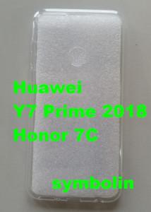 """TPU ultra tanka maska 0,3MM za Huawei Y7 PRIME 2018, HONOR 7C (5.99"""") providna"""