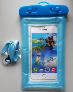 Univerzalna vodootporna futrola za smart telefone FLOAT, plava ili siva