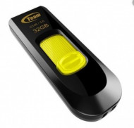 USB Flash 3.2 TeamGroup C145, YELLOW, 32Gb, 64GB, 128Gb