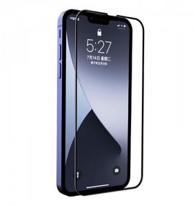"Zaštitno kaljeno staklo 5D Full Glue za iPhone 13, iPhone 13 Pro 2021 (6.1"") crni rub"