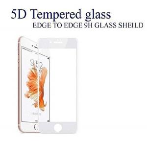 "Zaštitno, kaljeno staklo 5D Full Glue za iPhone 7, iPhone 8, iPhone SE 2020 (4.7 "") crni ili beli rub"
