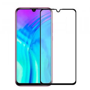"""Zaštitno staklo 5D FULL GLUE za Huawei Honor 8A, Y6 Pro 2019 (6.09"""") crni rubovi"""