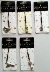 Privezak za telefon Luxy Lady