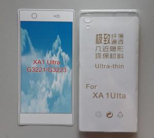 TPU maska 03.mm  ZA XPERIA XA1 Ultra providna