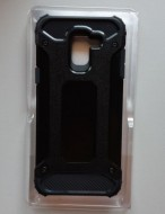 TPU maska DEFENDER za Samsung SM-J600F GALAXY J6 2018, crna