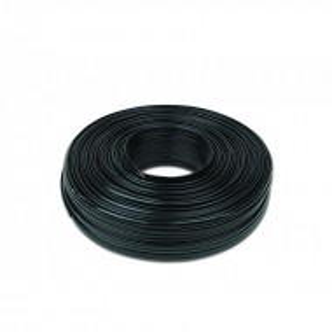 Flat, pljosnati instalacioni telefonski kabl (PG4) - crni - pakovanje 100m