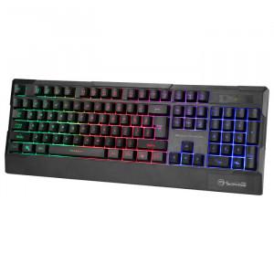Gejmerska Tastatura Marvo K606, sa RGB pozadinskim osvetljenjem crna
