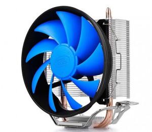 Hladnjak DeepCool GAMMAXX200T UNI kuler 100W 120mm.PWM Fan 900~1600rpm 54CFM 18~26dBa 1156/775/K8/AM4 2xpipes