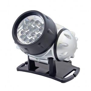 LED naglavna lampa 19 LED lampica Prosto PLF19