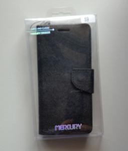 maska MERCURY preklopna za SM-G960F GALAXY S9 Black