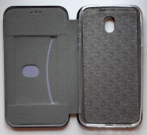 "Preklopna futrola Leather za Samsung Galaxy SM-J737, Galaxy J7 2018 (5.5"") crna"