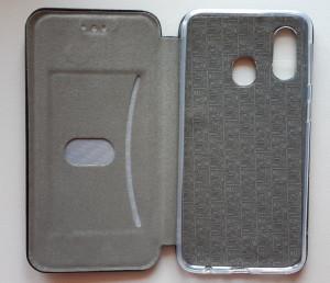 "Preklopna futrola Leather za Samsung SM-A405F Galaxy A40 2019 (5.9"") crna"