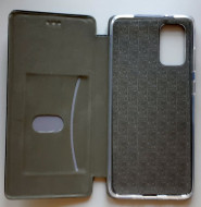 "Preklopna futrola Leather za Samsung SM-G985, Galaxy S20 Plus 2020 (6.7"") crna"