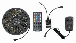 RGB LED traka + daljinski, gembird LED-S-RGB500-01, 5M