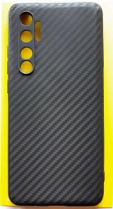 """TPU 0.3mm CARBON za Xiaomi Mi Note 10 Lite 2020 (6.47"""") crna"""