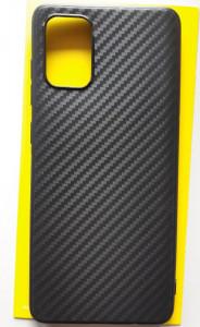 """TPU CARBON 0,3mm maska za Samsung SM-A715F Galaxy A71 2020 (6.7"""") crna"""