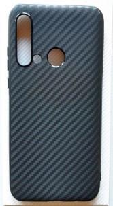 """TPU maska 0,3mm CARBON za Huawei P20 Lite 2019 (6.4"""") crna"""