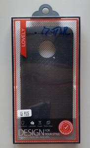 TPU Maska BREATH ZA MOTO G5 PLUS black