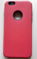 "TPU maska CANVAS za iPhone 6, iPhone 6S (4.7"") tamno roze"