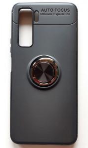 """TPU maska MAGNET RING za Huawei P40 lite 5G (6.5"""") crna"""