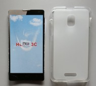 TPU Maska PUDDING Alcatel OT-5022X, POP STAR 3G providna, leđa mat
