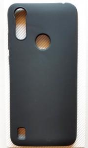 """TPU maska PUDDING za Moto E6S 2020 (6.1"""") crna"""