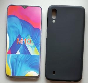"""TPU maska PUDDING za Samsung SM-M105F, Galaxy M10 2019 (6.2"""") crna"""