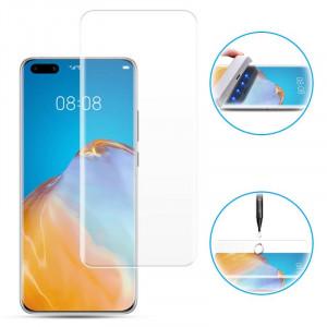 "Zaštitno staklo 5D FULL GLUE UV za Huawei P40 Pro 2020, P40 PLUS (6.58"") ZAKRIVLJENO"