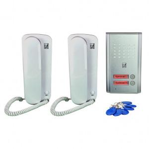 Žični interfon za dva stana HOME SUPER STRONG 2, sa RFID čitačem