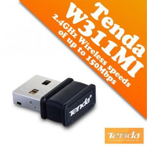USB bežična mrežna wifi kartica Tenda W311MI 150MBPS