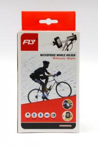 Držač telefona na biciklu vodootporan B03-15 CRNI