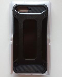 TPU maska DEFENDER za Huawei Y6 2018, Y6 Prime 2018, Honor 7A (black)
