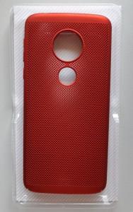 TPU/PC BREATH Za Motorola Moto E5, Moto G6 Play, crvena