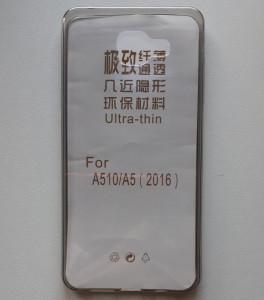 TPU 0.3mm ultra tanka maska za Samsung Galaxy A5 2016, SM-A510F, SMOKE